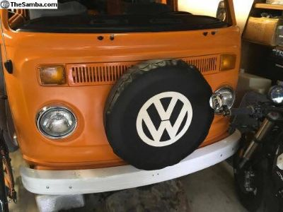 Custom VW tire covers