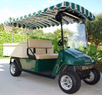 Sell Mint Condition 2002 EZGO EZ1200 Party / Refresher Golf Cart 19th Hole motorcycle in West Palm Beach, Florida, United States