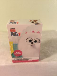 The secret life of pets two Band-Aids