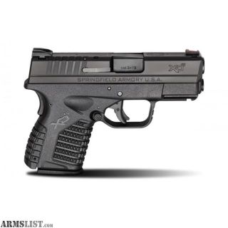 For Sale: Springfield XD(S) 9mm - Free Shipping - No CC Fees