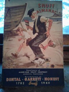 1948 snuff almanac