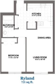 1 bedroom Apartment - Welcome to Hanover an independent retirement community in Tinley Park, Illinoi