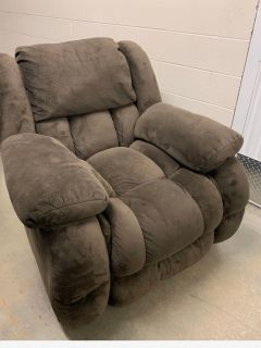 Loveseat and recliner