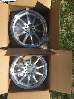 Brand new pair MK IV rims 17 x 7.5