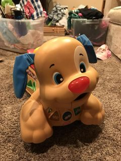 Fisher Price Laugh and Learn Ride to Stride Puppy