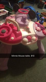 Minnie Mouse play table
