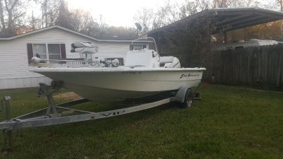 2006 BAYSTEALTH VIP bay boat, Johnson 90hp