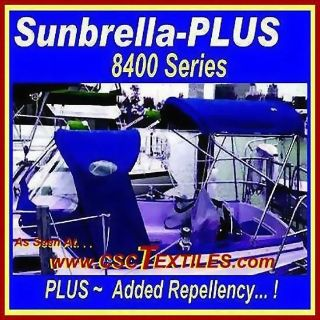 "Buy SUNBRELLA-PLUS MARINE 60""w FABRIC 3yd 8400-UVR ~ for Covers, BOAT, Outdoors PRO motorcycle in Germansville, Pennsylvania, US, for US $139.77"