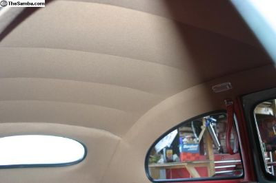 German Wool TAN headliner for 1964-1967 Bug