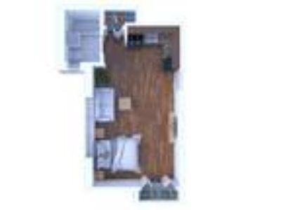 The Max Apartments - Studio Floor Plan S3