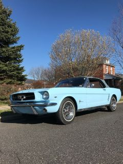 1965 Ford Mustang convertible 289ci
