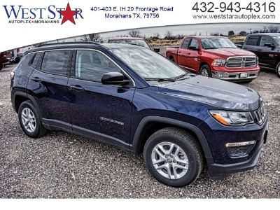 2019 Jeep Compass (Jazz Blue Pearlcoat)