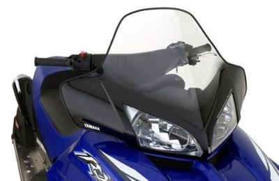 Sell YAMAHA Medium Snow Windshield 13.75 Inch RX/RS Clear/Black motorcycle in Maumee, Ohio, United States, for US $66.99