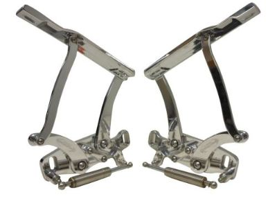 Purchase 1963 1964 IMPALA BILLET HOOD HINGES POLISHED. CNC ALUMINUM HINGES WITH STRUTS motorcycle in Fullerton, California, United States, for US $595.00
