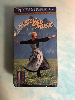 The sound of music vhs. Free with purchase