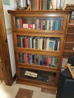 4 Door Barrister Book Case