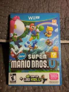 Wii U Super Mario Bros Game