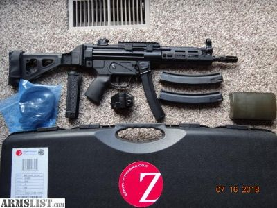 For Sale: Zenith Z-5RS, MKE MP5 Pkg