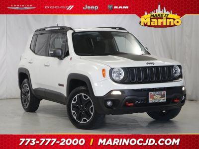 2017 Jeep Renegade trailhawk (White)