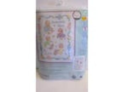 Dimensions Stamped Cross Stitch Baby Quilt Kit ~ Someone New