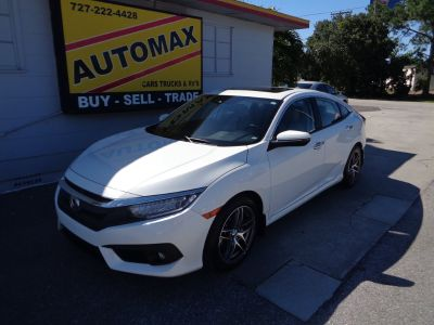 2016 Honda Civic Touring (White)