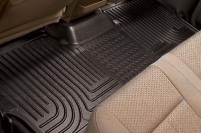 Purchase Husky Liners 19271 2010 Cadillac Escalade Black Custom Floor Mats 3rd Row motorcycle in Winfield, Kansas, US, for US $96.95