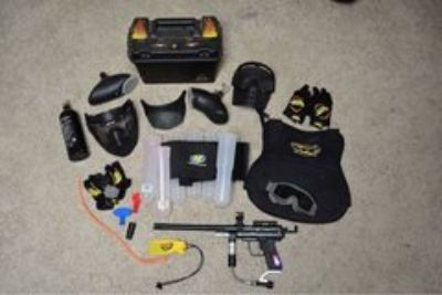 paintball marker and accessories LOT