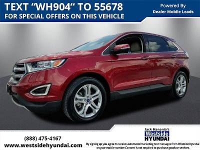 2017 Ford Edge TITANIUM (RED)