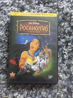 Pocahontas DVD. Works great just upgraded to blue ray