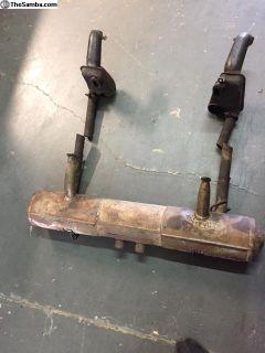 356 / 912 Muffler heat exchangers and J tubes