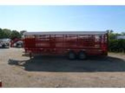 2019 WW 24 FOOT ROUSTABOUT TARP TOP STOCK TRAILER J9065 Stock
