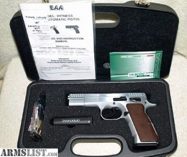 For Sale: EAA Tanfoglio Witness Stock 1 45ACP Pistol