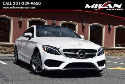 2017 Mercedes-Benz C-Class C 300 4MATIC Coupe (designo Diamond White Metallic)