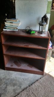 Book shelf 20 coffee table 40 and rod iron kitchen table and chairs beatiful 200