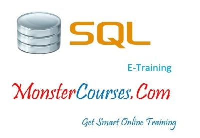 SQL Online Training Classes at Monstercourses