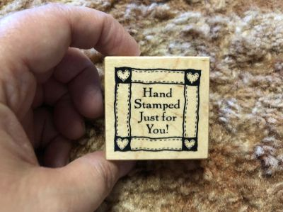 Small wood stamp