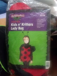 Kids Halloween lady bug outfit