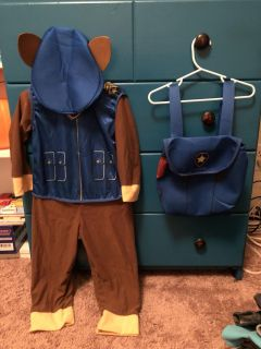 Chase from Paw Patrol Halloween Costume
