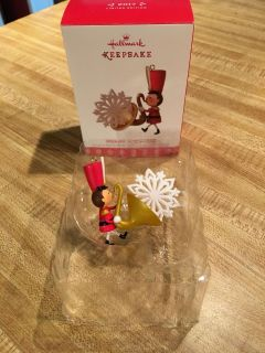 NIB 2017 Hallmark Soulful Saxophone 2 ornament for your special band member