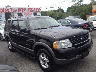 2002 Ford Explorer XLT (Black)