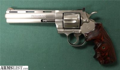 For Sale: Colt Python 357 Mag Stainless 6 Inch
