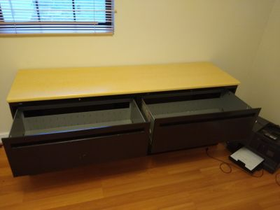 4 drawer table top filing cabinet