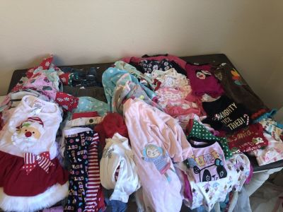 Baby clothes: 12, 12-18, 18M. Good/excellent condition