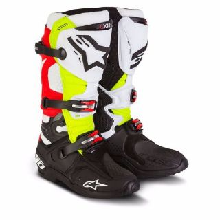 Buy Alpinestars Canard Limited Edition Tech 10 Boots Size 11 motorcycle in Rancho Cucamonga, California, United States, for US $599.95