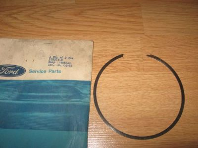 Find NOS 1964-1967 Ford Mustang Forward Clutch Pressure Plate Snap Ring 378260S C4 C5 motorcycle in Springfield, Massachusetts, United States, for US $19.00