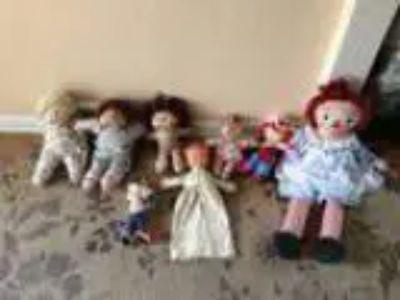 Drowsy Sleeper Keeper - Raggedy Ann - Cabbage Patch Dolls (Tukwi