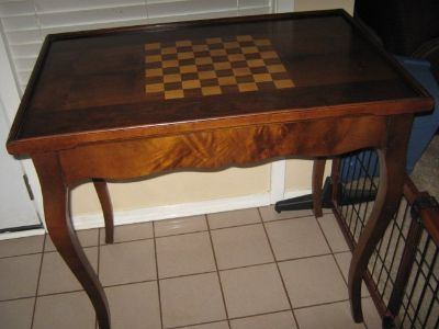 Game table: Reduced:
