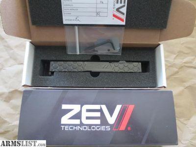 For Sale/Trade: ZEV Hex Cut Slide with Trijicon RMR Glock 19 Gen 4 Black