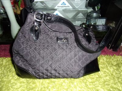 Marie Ladies Black Shoulder HANDBAG PURSE