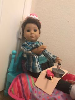 American girl doll-boy